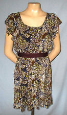 Chesley Dress Size Small (5/6 Estimate) Club or Casual Loaded with Ruffl