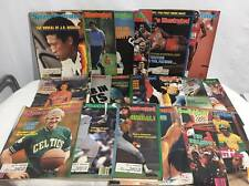 Vintage 1980's Sports Illustrated Magazines Lot of 20
