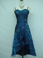 Cherlone Blue Prom Party Ball Evening Bridesmaid Wedding Formal Gown Dress 24