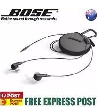 Bose SoundSport In-Ear Headphones for Apple Charcoal