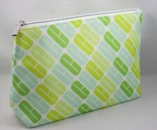 New CLINIQUE Cosmetic Case Cosmetic Bag  Makeup from USA-Cool Green