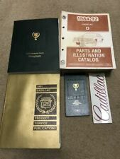 1991 1992 CADILLAC BROUGHAM Service Shop Workshop Repair Manual OEM Set