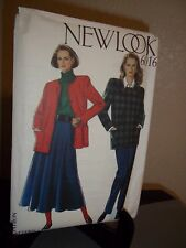 New Look #6016 Sewing Pattern Misses Skirt Pants Size 8 10 12 14 16 18 Uncut FF