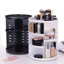 Makeup Storage Box Case Rotating Cosmetics Jewelry Organizer Holder 360 Degree