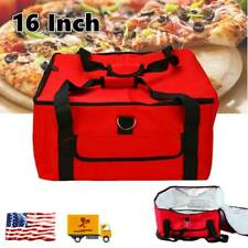 Oxford Cloth 16inch Pizza Food Delivery Bag Storage Food Drink Insulated Thermal