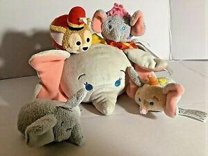Disney Store Dumbo Mini Tsum Tsum Plush Set of 4 with bag no/tags