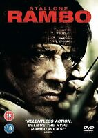 RAMBO  PART 4 DVD Sylvester Stallone 4th Four Fourth MOVIE FILM UK Release R2