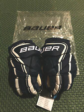 Bauer Vapor 1X Lite Pro Ice Hockey Gloves Navy Blue/White | SR Size 14 |MSRP:199