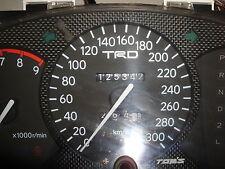JDM Toyota Celica OEM TRD TOM'S 300KM Cluster ST202 205 Speedo Meter Gauge A/T