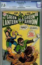 GREEN LANTERN #78- CGC 7.5- HIGRADE NEAL ADAMS DC MASTERWORK- 1970