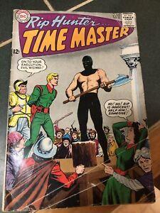 1965 RIP HUNTER…TIME MASTER #26 – DC Comics – May-June, 1965 - THE COSMIC KEY
