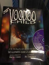 Voodoo Child The Illustrated Legend Of Jimi Hendrix Graphic Hardcover Bonus Cd