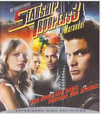 STARSHIP TROOPERS 3 (Blu-ray Disc, 2008)