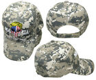 MAGA Trump 2020 USA Demon Punish Skull ACU Digital Camo Embroidered Hat Cap