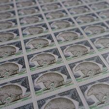 FEUILLE SHEET TIMBRE NATURE TATOU GUYANE N°1819 x50 1974 NEUF ** LUXE MNH