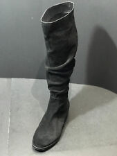 Steve Madden Womens Beacon Knee High Slouch Suede Boots Shoes Size US 7 M