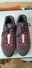 Nike Air Max 95 Essential Running Shoes Black White Red [749766-039] Men 11.5