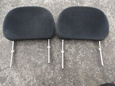 VAUXHALL CORSA B / COMBO MK1 VAN 2X FRONT HEADRESTS IN BLACK 1994- 2001 pair of