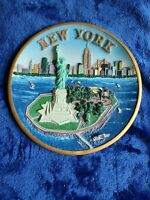 Vintage New York Collectors Plate  Decoration Souvenir Plate Home Decor 7.5""