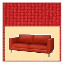"IKEA Karlstad""2 Seat""Korndal Red NEW""Tweed""Loveseat COVER ONLY,Fire Engine Sofa"