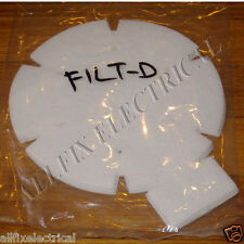 PacVac SuperPro Micron 700 Backpack Motor Inlet Filters - Part # FILTD
