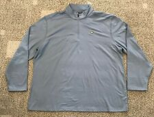 Mens Jack Nicklaus 1/2 Zip Pullover Golf Top Gray Size 2Xl Sun Protection