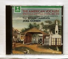 JOEL COHEN - The American vocalist, Spirituals & folk hymns 1850-70 ERATO CD NM