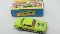 MATCHBOX SUPERFAST No 62 Mercury Cougar Rat Rod Dragster. Excellent In G-Box