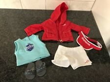 American Girl Doll Chrissa's Swim team warmup outfit (retired)