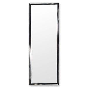 Türspiegel Tür Spiegel Hängespiegel Rahmenspiegel SILBER Hochglanz 35x95cm