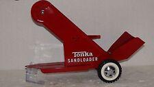 TONKA RESTORED SANDLOADER RED