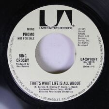 Pop Promo 45 Bing Crosby - That'S What Life Is All About / That'S What Life Is A