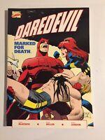 Marvel Comics~ DAREDEVIL: MARKED FOR DEATH ~1990~Frank Miller ~TPB~1st Print~NM-