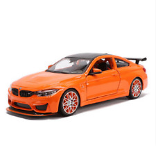 Maisto 1/24 BMW M4 GTS Diecast MODEL Racing Car NEW IN BOX Orange