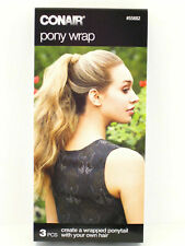 CONAIR PONY WRAP Create a wrapped ponytail with your own hair #55882