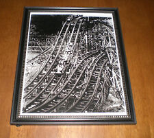 West View Park Racing Whippet Framed B&W 8X10