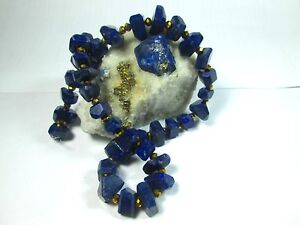 "16"" AAA Grade FACETED POLISHED NATURAL LAPIS LAZULI Bead Strands Afg 39L"
