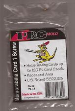 Por-Mold PC18 1 SCREW CARD HOLDER 120 PT.