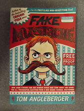 Fake Mustache by Tom Angleberger *Uncorrected Proof* P/B Pub.Amulet