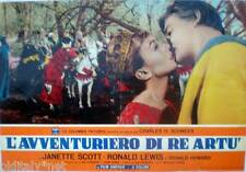 fotobusta 1963 L'AVVENTURIERO DI RE ARTU-Janett Scott-Ronald Lewis-Howard -2