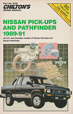 Repair & Tune-Up Guide for 1989-1991 Nissan Pick-Ups & Pathfinder