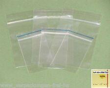 Druckverschlussbeutel transparent 50 mµ + Haftnotizen GRATIS - Größe wählbar!