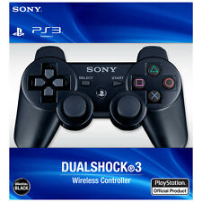 Official SONY DUALSHOCK 3 Wireless Controller BLACK NEW