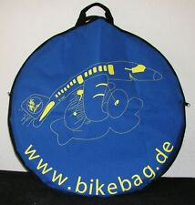 PAIR of Wheel Bags for Transportation cover protection inside bike case or store