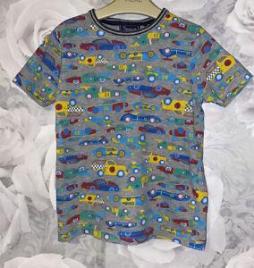 Boys Age 4-5 Years - TU Sainsburys Vehicles T Shirt
