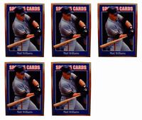 (5) 1992 Sports Cards #141 Matt Williams Baseball Card Lot San Francisco Giants