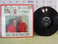 Don Reno & Red Smiley, The True Meaning Of Christmas, King Records 874,Bluegrass