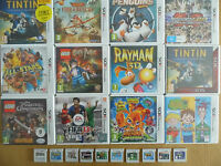 Nintendo 3ds Games - From Complete to Cart Only - Please See Listing - Tested