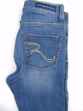 Rock & Republic distressed Straight Jeans Size 8 (525)