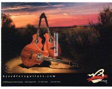 2009 BREEDLOVE Acoustic Guitar Desert Sunset Sunrise Advertisement